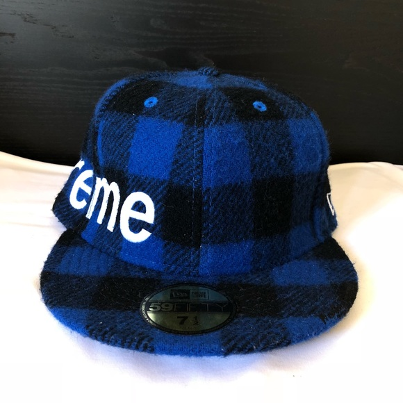 97f1029a Supreme Accessories | Buffalo Check Plaid Hat Nwt Size 7 12 | Poshmark